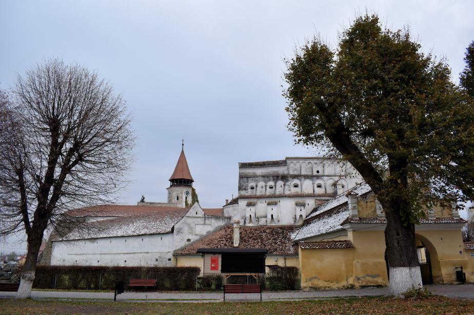 Cetatea fortificara Prejmer - exterior