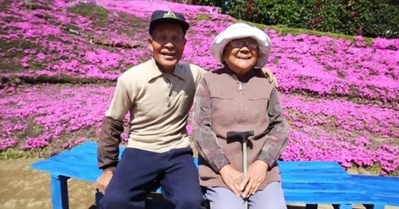 Sotul a plantat pentru sotia lui